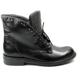 Laarzen Mjus DAMES hoge veterschoen M56212 zwart