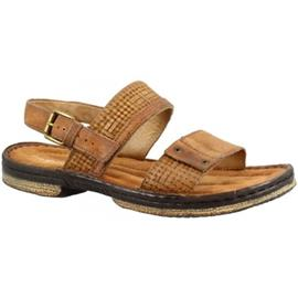 Sandalen Leonardo Shoes 434011 LEGNO