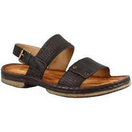 Sandalen Leonardo Shoes 434011 NERO LEGNO