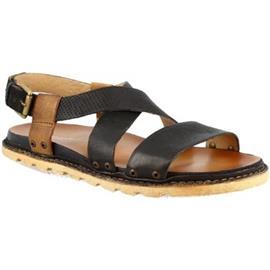 Sandalen Leonardo Shoes 447003 NERO LEGNO