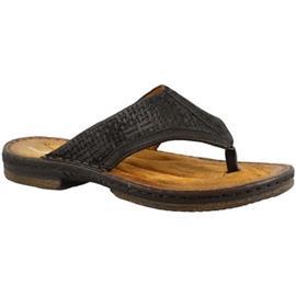 Teenslippers Leonardo Shoes 434012 NERO LEGNO