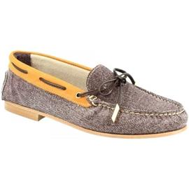 Mocassins Leonardo Shoes 503 NABUK T. MORO CUOIO