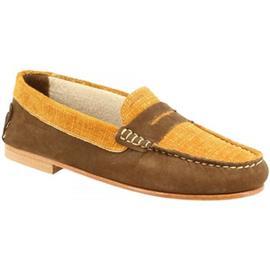 Mocassins Leonardo Shoes 503 NABUK KAKI OCRA
