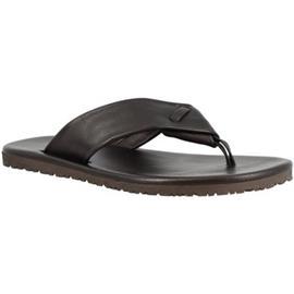 Teenslippers Leonardo Shoes M5410 VITELLO NERO