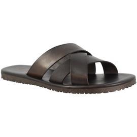 Slippers Leonardo Shoes M6377 NERO