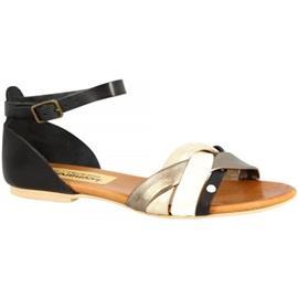 Sandalen Leonardo Shoes PC70X VACCHETTA / CAPRA NERO