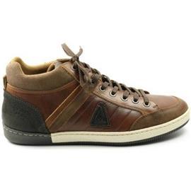 Hoge Sneakers Gaastra HEREN lage veterschoen WILLIS MID cognac