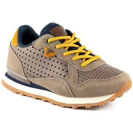 Lage Sneakers Yumas IVOR TAUPE