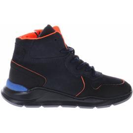 Hoge Sneakers Gattino G1919 Sneakers Donkerblauw Oranje