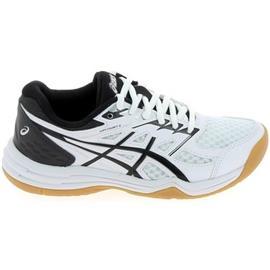 Lage Sneakers Asics Upcourt 4 Jr Blanc Noir