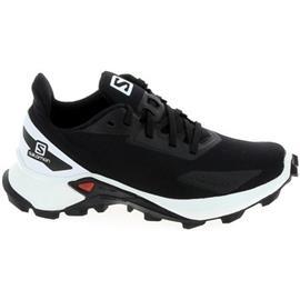 Lage Sneakers Salomon Alphacross Blast K Noir Blanc