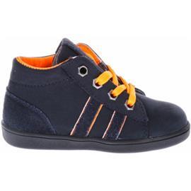 Laarzen Pinocchio F1957 First Steps Blauw Oranje