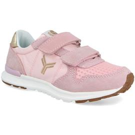 Lage Sneakers Yumas TIGRIS ROSA