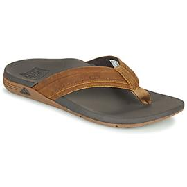 Teenslippers Reef LEATHER ORTHO-SPRING