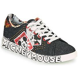 Lage Sneakers Desigual COSMIC MICKEY DENIM