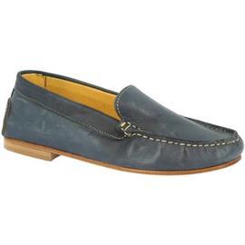 Mocassins Leonardo Shoes 500 VITELLO BLU