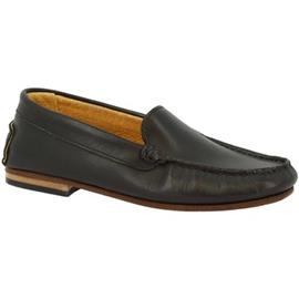Mocassins Leonardo Shoes 500 VITELLO NERO F. DO CUOIO