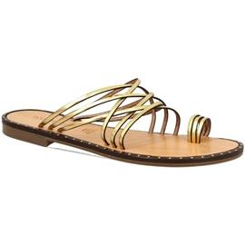 Slippers Leonardo Shoes SIENA ORO
