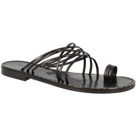 Slippers Leonardo Shoes SIENA NERO