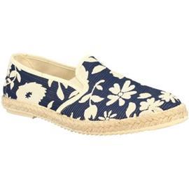 Espadrilles Leonardo Shoes GERBERA BLUE