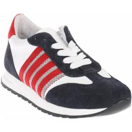 Lage Sneakers Gattino G1768 Sneakers Blauw Rood