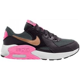Lage Sneakers Nike ZAPATILLA NEGRA-DORADA Air Max Excee GS CD6894