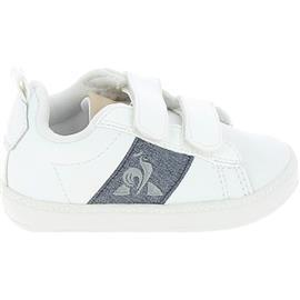 Lage Sneakers Le Coq Sportif Courtclassic BB Blanc Bleu