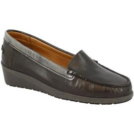 Mocassins Leonardo Shoes 3002 VITELLO ABRASIVATO GRIGIO