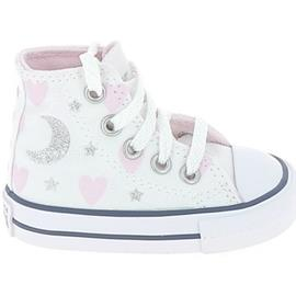 Hoge Sneakers Converse All Star Hi BB Blanc Argent