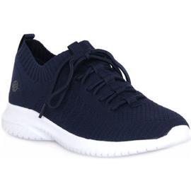 Lage Sneakers Dockers TEXTILE DUNKEBLAU