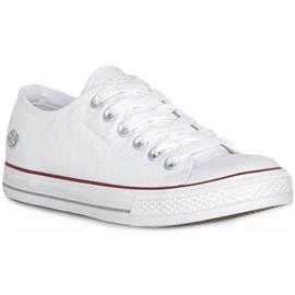 Lage Sneakers Dockers 500 CANVAS WEISS
