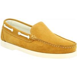 Mocassins Leonardo Shoes C03 CAMOSCIO OCRA