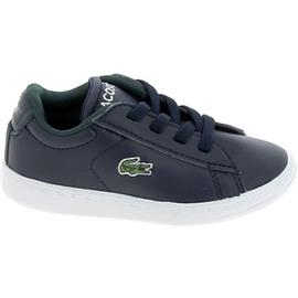 Lage Sneakers Lacoste Carnaby BB Marine Blanc