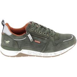 Lage Sneakers Mustang Sneaker 4164302 Olive