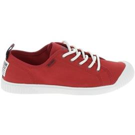 Lage Sneakers Palladium Easy Lace Rouge