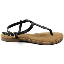 Sandalen Lazamani DAMES sandaal 75.611. zwart