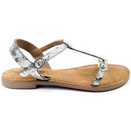 Sandalen Lazamani DAMES sandaal 75.501. zilver