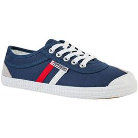 Lage Sneakers Kawasaki Retro canvas shoe - navy