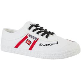 Lage Sneakers Kawasaki Signature canvas shoe - white