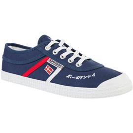 Lage Sneakers Kawasaki Signature canvas shoe - navy