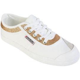 Lage Sneakers Kawasaki FOOTWEAR - Glitter canvas shoe - gold
