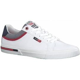 Lage Sneakers S.Oliver Weiße flache Schuhe