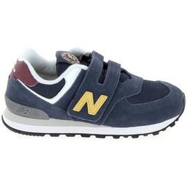 Lage Sneakers New Balance PV574 C Marine Jaune