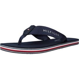 Teenslippers Tommy Hilfiger TOMMY STRIPES FLAT BEACH