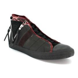sneakers Guess FM4BEKLEA12 - laars koorden 3 BANDAS zwart