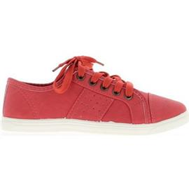 Sneakers Chaussmoi Stad vrouw rode sneakers