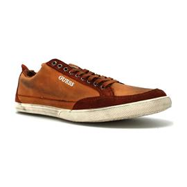 sneakers Guess FM3VRNLEA12 - stad koord LOGO bruin
