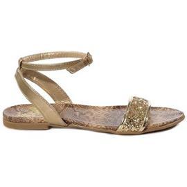 Sandalen Pearlz Goud Sandaal 4046104301