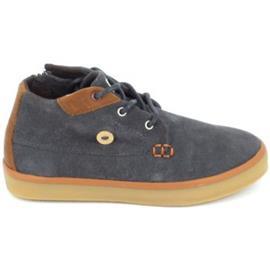 Hoge Sneakers Faguo Wattle Suede C Gris