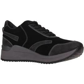 sneakers Lumberjack SW19205-001 Sneakers Women BLACK/GUN METAL